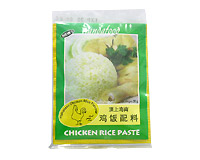 tasty chicken rice paste